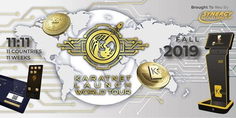 KARATNET Launch World Tour - Auckland tickets