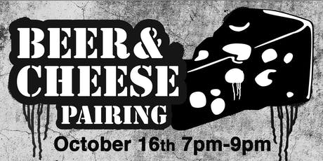 Beer & Cheese Pairing ($25 for a flight of four beers and four cheeses) tickets