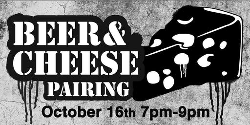 Beer & Cheese Pairing ($25 for a flight of four beers and four cheeses)