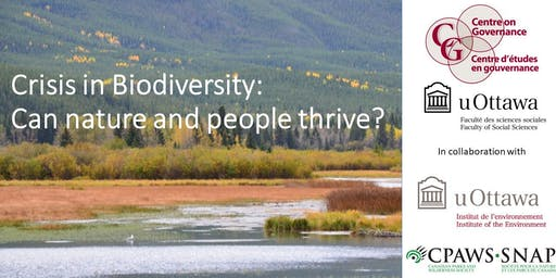 Crisis in Biodiversity: Can Nature and People Thrive?