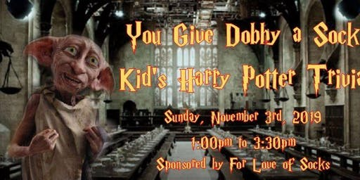 Socks for Dobby - Kids Only Harry Potter Trivia - No Adults Play