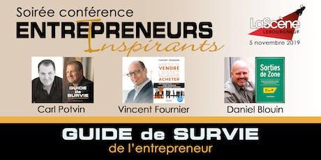 Entrepreneurs Inspirants Québec tickets