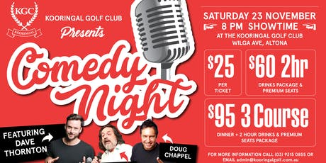 Dave Thornton and Guests- Comedy Night tickets
