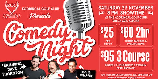 Dave Thornton and Guests- Comedy Night