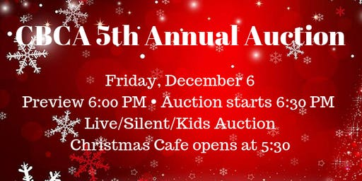 CBCA 5th Annual Live and Silent Auction