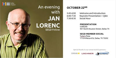An Evening with SEGD Fellow, Jan Lorenc