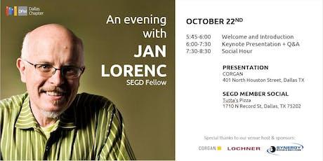 An Evening with SEGD Fellow, Jan Lorenc tickets