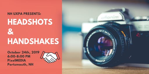 Headshots & Handshakes!