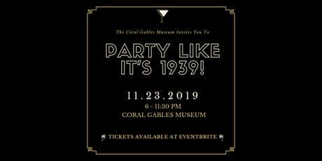 Party like It's 1939! tickets
