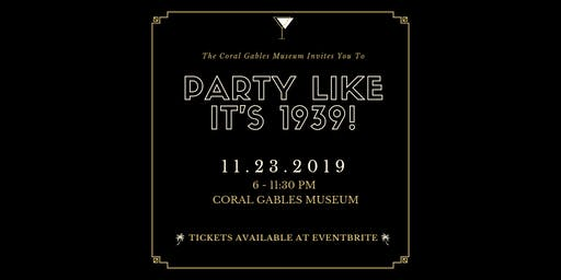 Party like It's 1939!