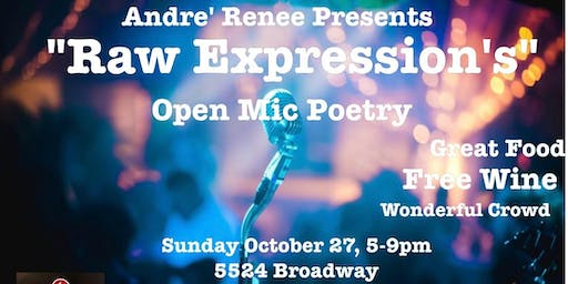 Raw Expressions, Open Mic Poetry