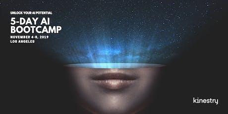 Kinestry's 5-Day AI Bootcamp - November 4-8 tickets