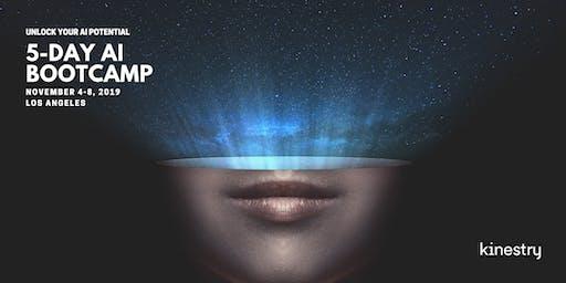 Kinestry's 5-Day AI Bootcamp - November 4-8
