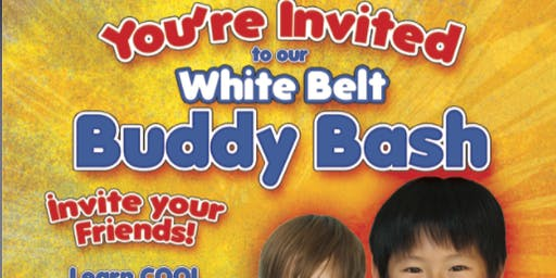 FREE White Belt Buddy Bash