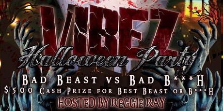 VIBEZ Bad Beast vs. Bad B**** Edition Halloween Costume Party tickets