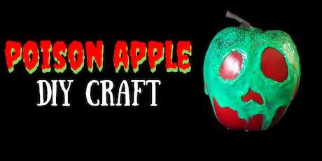 Poison Apple DIY Halloween Craft tickets