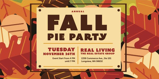 Real Living Fall Pie Event (Longview Office)