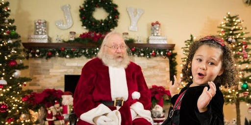 Photos with Santa and Hopelink Toy Drive