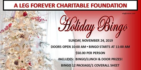Holiday Bingo - A Leg Forever tickets