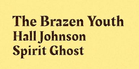 Brazen Youth, Hall Johnson, Spirit Ghost tickets