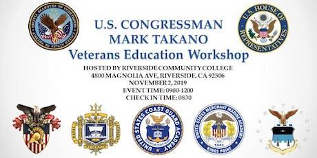 Veterans Education Workshop tickets