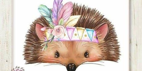 Family Art Night Harvest Hedgehog tickets