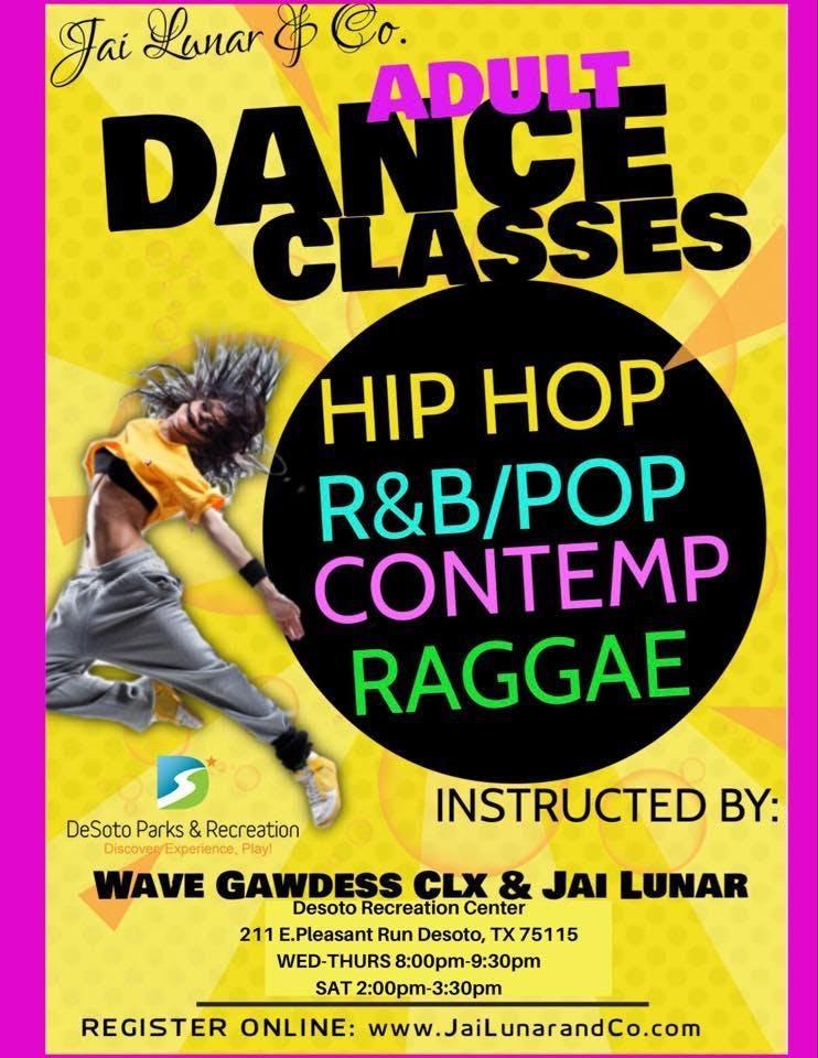 ADULT R&B DANCE CLASSES