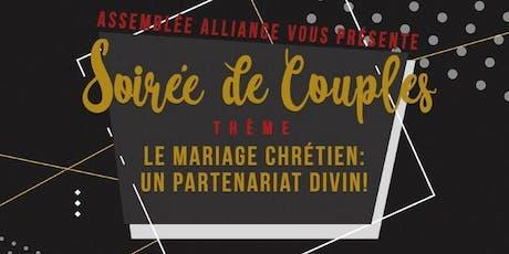 """""""Le mariage chrétien: un partenariat divin"""" tickets"""