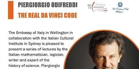 The Real Da Vinci Code - a lecture by Piergiorgio Odifreddi in Auckland tickets