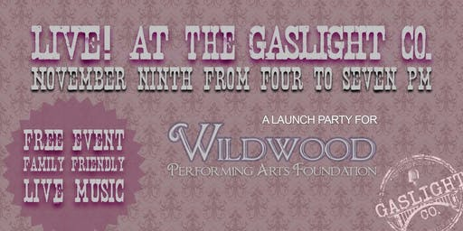 Live! At the Gaslight Co. (WPAF Launch Party)