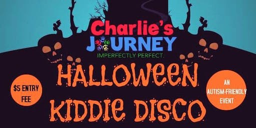Charlie's Journey presents a Halloween Kiddie Disco!  Autism Friendly Event