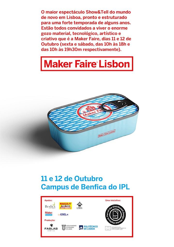 imagem Maker Faire Lisbon 2019