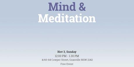 Free Workshop on Mind & Meditation tickets