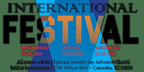 Ephesus SDA Columbia International Festival tickets