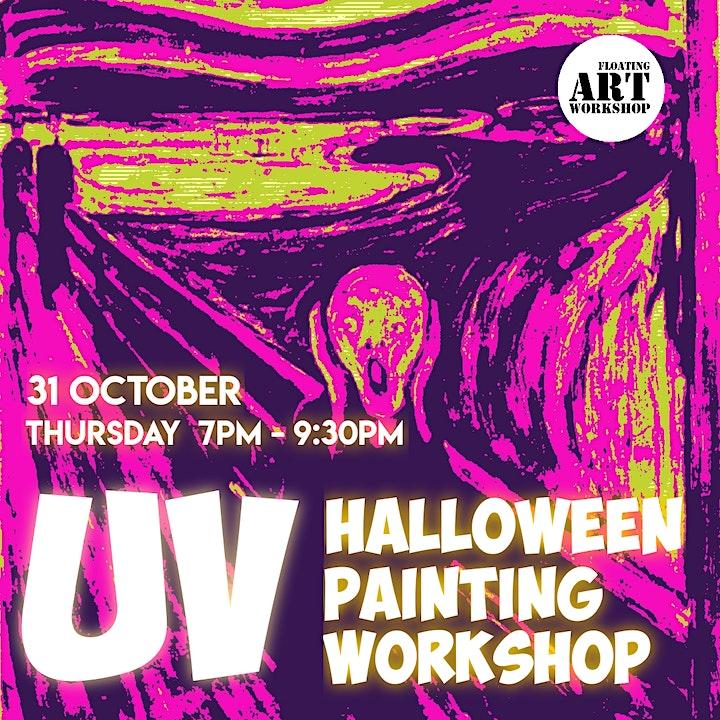 UV Halloween Painting Workshop image