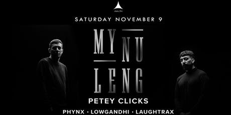Avalon Presents: My Nu Leng tickets