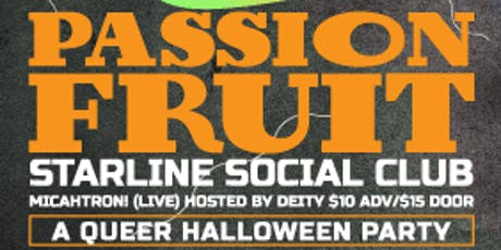 Passionfruit Halloween Party!!! tickets
