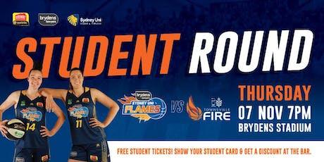 Flames V Fire, Thursday, 7 November @ 7pm tickets