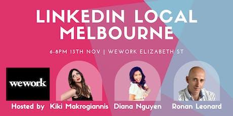 Linkedin Local Melbourne - November 2019 tickets