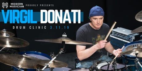 Virgil Donati Drum Clinic tickets
