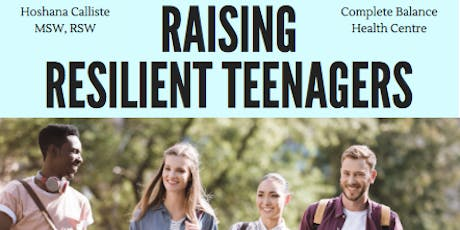 Raising Resilient Teenagers tickets