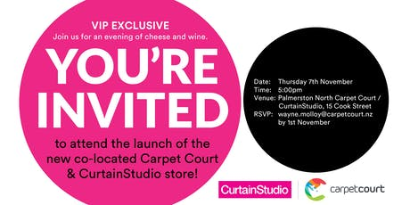 CurtainStudio New Store Opening - Palmerston North tickets