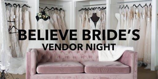 Believe Bride's Vendor Night