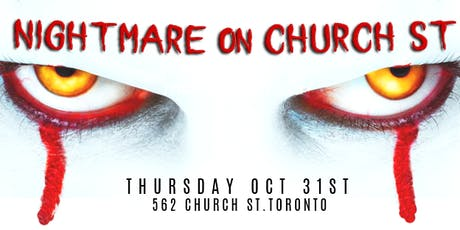 NIGHTMARE on CHURCH ST tickets