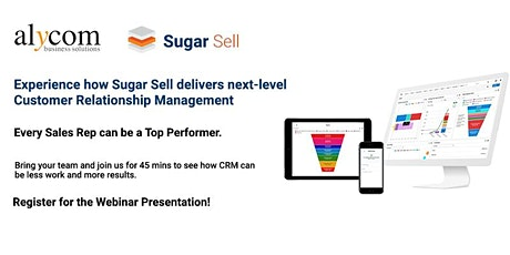 Sales Tools - Experience how Sugar Sell delivers next generation CRM tickets