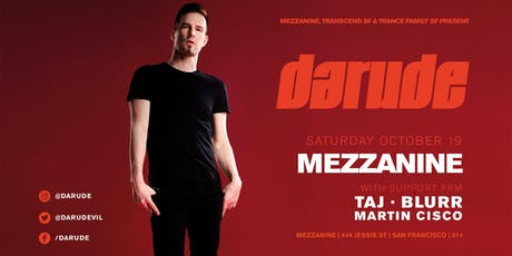 DARUDE at MEZZANINE tickets