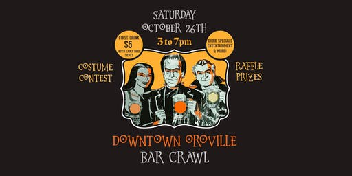 Monster Mash Bar Crawl