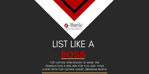 List Like A Boss