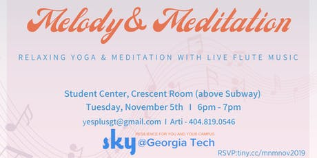 Melody and Meditation tickets