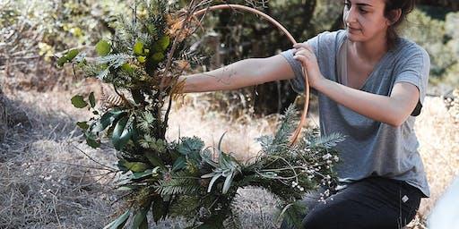 Seasonal Wreath Making  & Natural Dye Class